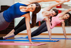 Гимнастические упражнения в фитнесе. Записаться