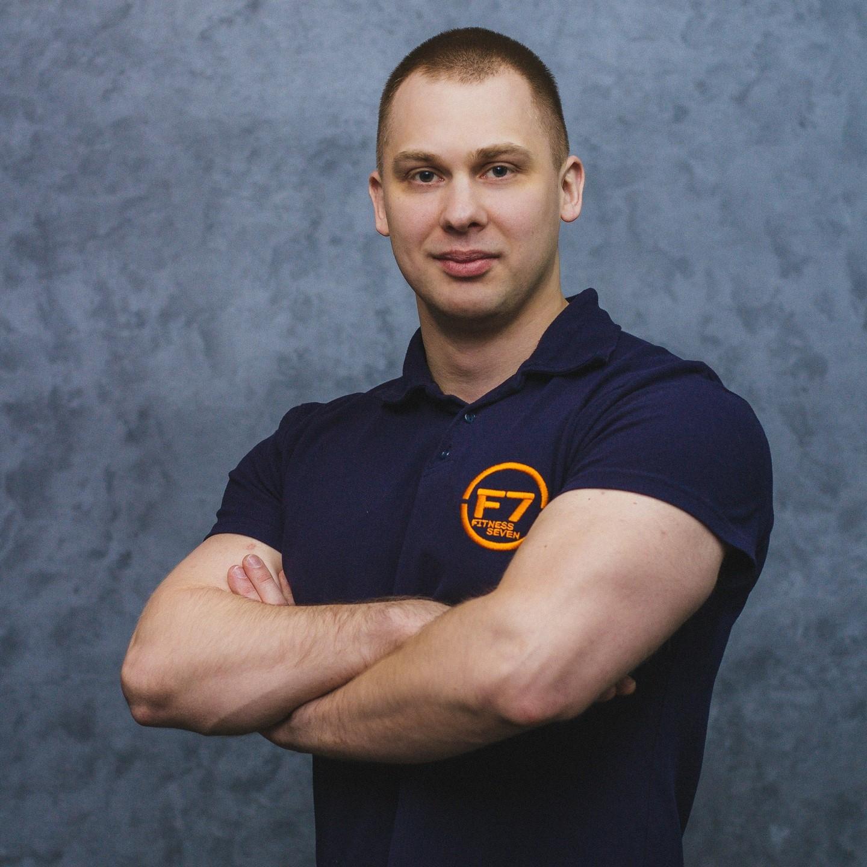 Тренер севен фитнес Иваново Журавлев Кирилл